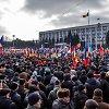 Pirmoji Moldovos protestuotojų pergalė: pritarta referendumui dėl prezidento rinkimų
