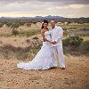 """Namibijoje susituokę Andrius Pauliukevičius ir Ilka Adams: """"Afrikoje vestuvės – kitokios"""""""