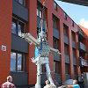 """Šiauliuose naujas lankomas objektas – skulptūra """"Bakalauras"""""""