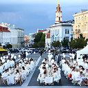 """""""Vakarienė baltai"""" Vilniuje"""