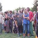 """""""Rainbow Gathering"""" šeima nuspalvino Antazavės miestelio šventę"""