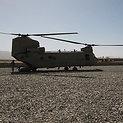 Sraigtasparnis - greičiausias būdas pasiekti Zabule dislokuotus lietuvius