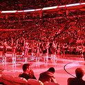 """Raptors"" arena per minutės pertraukėlę"
