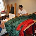 VIENYBĖS vėliavos siuvimas