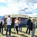 Kauno S. Dariaus ir S. Girėno aerodrome vykusiame didžiausiame šiais metais aviaciniame renginyje, skirtame atminti transatlantinių lakūnų skrydžio 80-metį, buvo pristatyta pažangiausia karinė ir aviacinė technika
