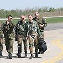 Lenkų naikintuvai NATO bazėje