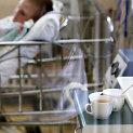Meningokoko infekcija užsikrėtęs vaikas