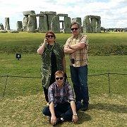 Po pasaulį išsibarsčiusi žinių vedėjo Gintaro Deksnio šeima susitiko Anglijoje