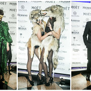 Kazanoviškame vakarėlyje Lietuvos garsenybės stebino Helovino kostiumais