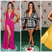 """Lotynų """"Grammy"""" apdovanojimuose – ryškių ir atvirų suknelių paradas"""