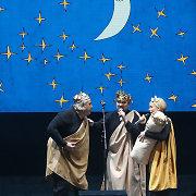 """Jubiliejų švenčiančio """"Keistuolių teatro"""" aktoriai iki šiol prisimena prieš 20 metų dovanų gautą dešrą"""