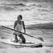 Aktorė Eglė Jackaitė pamėgo irklenčių sportą