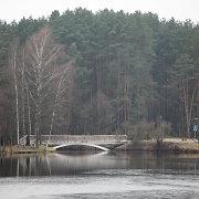 Klaipėdos rajone ugniagesiai skubėjo gelbėti tvenkinyje plūduriuojančių vaikų