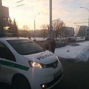"""Vilniuje susidūrus """"Audi"""" ir """"Opel"""" sutriko viešojo transporto eismas"""