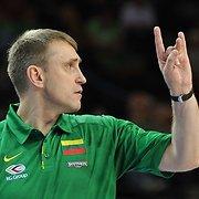 Kęstutis Kemzūra paskelbė krepšinio rinktinės kandidatų sąrašą