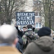 Šimtai vilniečių surengė eitynes Borisui Nemcovui atminti