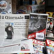"""Italų dienraštis premjero ir žydų pasipiktinimui išleido A.Hitlerio """"Mein Kampf"""""""