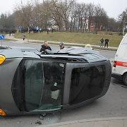 Laiko persukimo dienomis avarijų skaičius padidėja