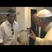 Popiežius Pranciškus: kas geresnis – Maradona ar Pelė?