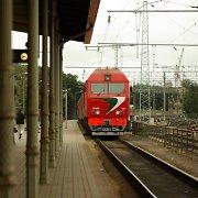 Pirmadienį Lentvaryje keturiasdešimtmetis nutarė užbaigti gyvenimą ant traukinio bėgių