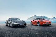 """""""Porsche"""" pristatė du naujus 718 serijos rodsterius"""