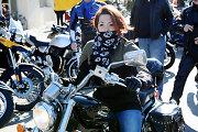 """7-erius metus motociklą vairuojanti Ernesta: """"Baikerių pasaulį užkariauja moterys"""""""