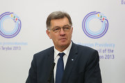 Lithuanian Prime Minister Algirdas Butkevičius says he could not participate in talks with Chevron