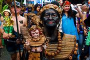 Ati-Atihan: Filipinus nuspalvinantis Jėzui skirtas festivalis