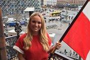 Caroline Wozniacki olimpiados atidarymo šventėje neš savo šalies vėliavą