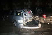 Girtos biržietės šėlsmas Panevėžyje: sudaužyti penki automobiliai ir bandymas sprukti