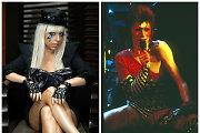 """Lady Gaga per """"Grammy"""" apdovanojimus pagerbs Davidą Bowie specialiu pasirodymu"""