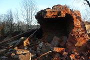 Pergyvenusi pasaulinius karus, Kauno tvirtovės VII forto ledainė krito prieš verslo buldozerį