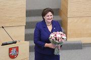 Ar išsaugos Loreta Graužinienė Seimo pirmininkės postą?