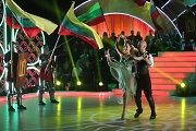 """Jurijus Smoriginas pasiuto dėl Remigijaus Žiogo šokio su vėliavomis: """"Nevalkiok simbolių!"""""""