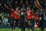 """Prancūzijos futbolo čempionate """"Rennes"""" komanda pakilo į penktą vietą"""