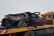 """Dėl tragiškos pirmadienio avarijos prie Ramygalos kaltinama joje žuvusi """"Audi"""" vairuotoja"""