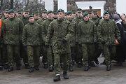 Krašto apsaugos ministerija siūlo nesvarstyti šaukimo į kariuomenę po 5 metų