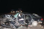"Prie Marijampolės susidūrus ""Opel Zafira"" ir ""Audi A6"" automobiliams žuvo du žmonės"