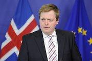 """Islandijos premjeras: """"Nestodami į Europos Sąjungą išvengėme kulkos"""""""
