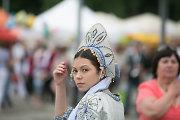 Vingio parke rusai į dangų leido taikos balandžius ir ramiai šventė Rusijos kultūros dieną
