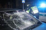 """Panevėžyje girtą pėsčiąjį partrenkęs """"Opel"""" vairuotojas yra policininkas"""