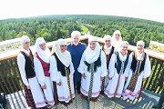 Dalia Grybauskaitė: atidarytas medžių lajų takas Anykščiuose – paminklas Lietuvos gamtos grožiui