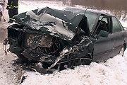 """Šiauliuose susidūrė trys automobiliai """"Audi"""", nukentėjo keturi žmonės"""