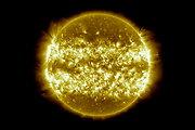 Trejų metų Saulės aktyvumas per tris minutes