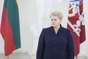 Prezidentė Miunchene išsakys, kaip vertina Rusijos veiksmus Ukrainoje ir Sirijoje