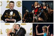 """Išdalyti muzikos apdovanojimai """"Grammy"""": pagrindinius prizus susižėrė Samas Smithas"""