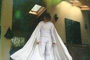 Willo Smitho sūnus Jadenas į mokyklos išleistuves atėjo apsirengęs baltu Betmano kostiumu