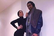 Agnė Jagelavičiūtė ir jos vyras Mantas Volkus per Heloviną tapo Kim Kardashian ir Kanye Westu