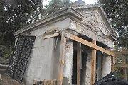 Vilniaus Saulės kapinėse tvarkoma XIX amžiaus Oginskių koplyčia-mauzoliejus