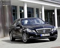 """Šarvuotas E klasės """"Mercedes-Benz"""""""